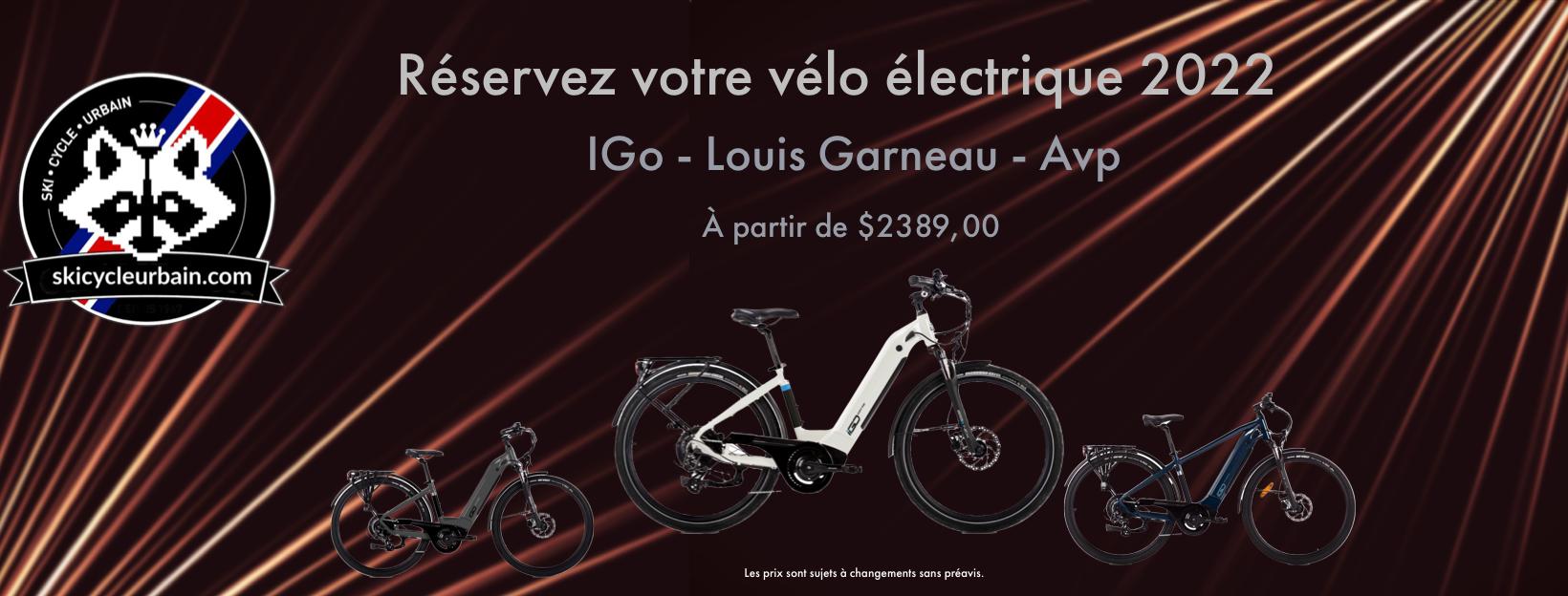 Vélo électrique 2022