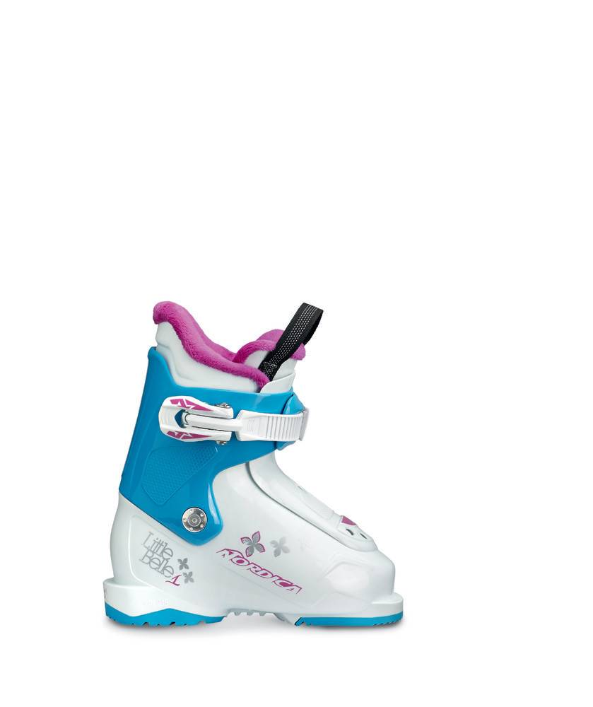 NORDICA LITTLE BELLE 1 WHITE/LTBL/PUR