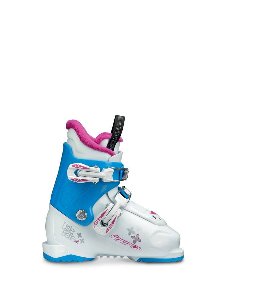 NORDICA LITTLE BELLE 2 WHITE/LTBL/PUR