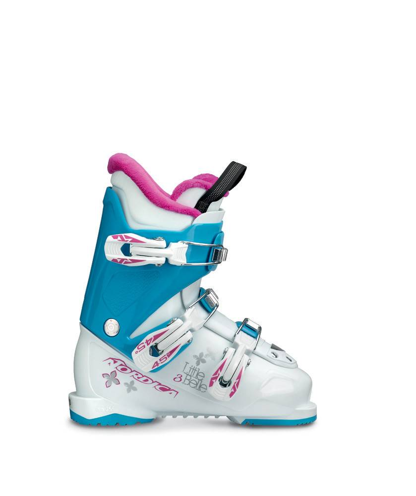 NORDICA LITTLE BELLE 3 WHITE/LTBL/PUR