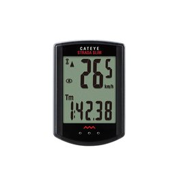 Cat Eye Strada Slim Wireless CC-RD310W, Cyclometre, Capteur pour velo de route, Noir