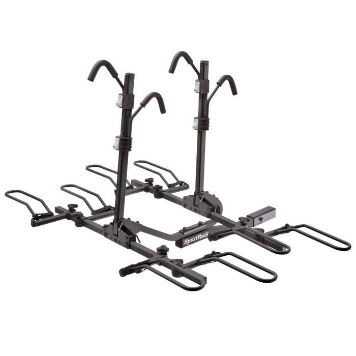 SportRack CREST DELUXE 4 LOCK & TILTING PLATFORM HITCH RACK 4 BIKE