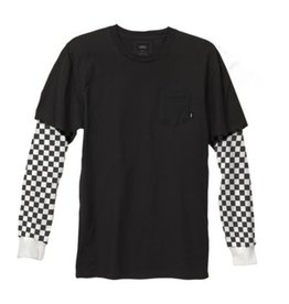 5bab806f86 Vans M CHECKER SLEEVE TWO-FER