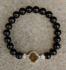 ShoreLine ShoreLine, Naples Sand Bracelet, Black Onyx