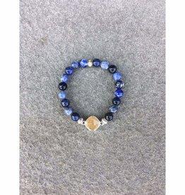 ShoreLine ShoreLine, Naples Sand Bracelet, Sodalite