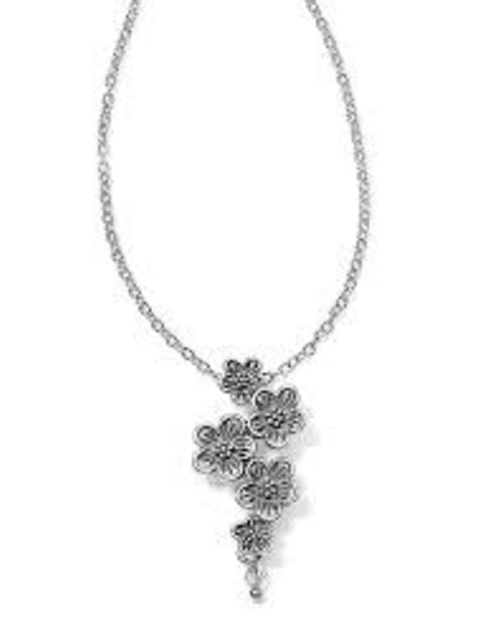 Brighton Brighton, Sakura Drop Necklace Silver