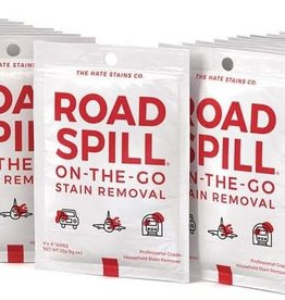 Hate Stains Hate Stains, Road Spill On-The-Go Stain Remover Towelettes (5 Pack)