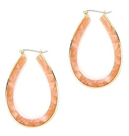 What's Hot Serendipity Earrings, JE0458, Grapefruit