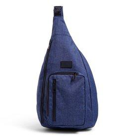 Vera Bradley Vera Bradley, ReActive Sling Backpack, Dark Blue Heather FINAL SALE
