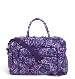 Vera Bradley Vera Bradley, Iconic Weekender Travel Bag, Regal Rosette