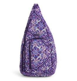 Vera Bradley Vera Bradley, Iconic Sling Backpack, Regal Rosette