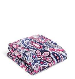 Vera Bradley Vera Bradley, Plush Throw Blanket, Gramercy Paisley