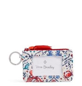 Vera Bradley Vera Bradley, Iconic Zip ID Case, Sea Life