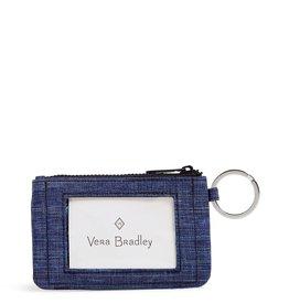 Vera Bradley Vera Bradley, ReActive Zip ID Case, Dark Blue Heather