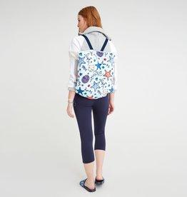 Vera Bradley Vera Bradley, Beach Blanket backpack, Mint Sea Life