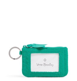 Vera Bradley Vera Bradley, Iconic Zip ID Case, Peacock Blue
