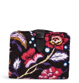 Vera Bradley Vera Bradley, Iconic RFID Small Wallet Foxwood FINAL SALE