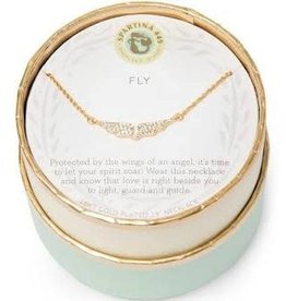 """Spartina 449 Spartina 449, SLV Necklace 18"""", Fly/Wings Necklace"""