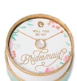 "Spartina 449 Spartina 449, SLV Necklace 18"", Bridesmaid/Pearlescent"