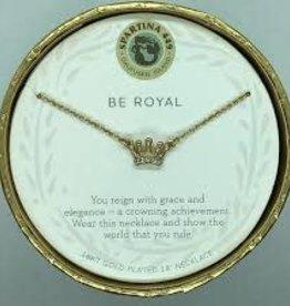 """Spartina 449 Spartina 449, SLV Necklace 18"""", Be Royal/Crown"""