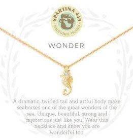 """Spartina 449 Spartina 449, SLV Necklace 18"""", Wonder/Seahorse"""