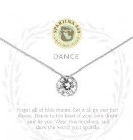 """Spartina 449 Spartina 449, SLV Necklace 18"""", Dance/Gem SIL"""