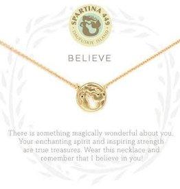 "Spartina 449 Spartina 449, SLV Necklace 18"", Believe/Mermaid"