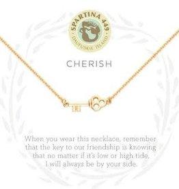 "Spartina 449 Spartina 449, SLV Necklace 18"", Cherish/ Key"