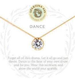 """Spartina 449 Spartina 449, SLV Necklace 18"""", Dance/Gem"""