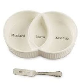 MudPie MudPie, Condiment Server Set (In store/curbside pick up only)