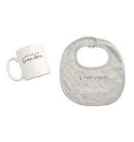 MudPie MudPie, Grandma Bib & Mug Gift Set