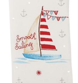 MudPie MudPie, Smooth Sailing Beach Towel