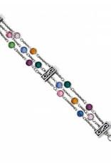 Brighton Brighton, Elora Gems Tri Strand Bracelet