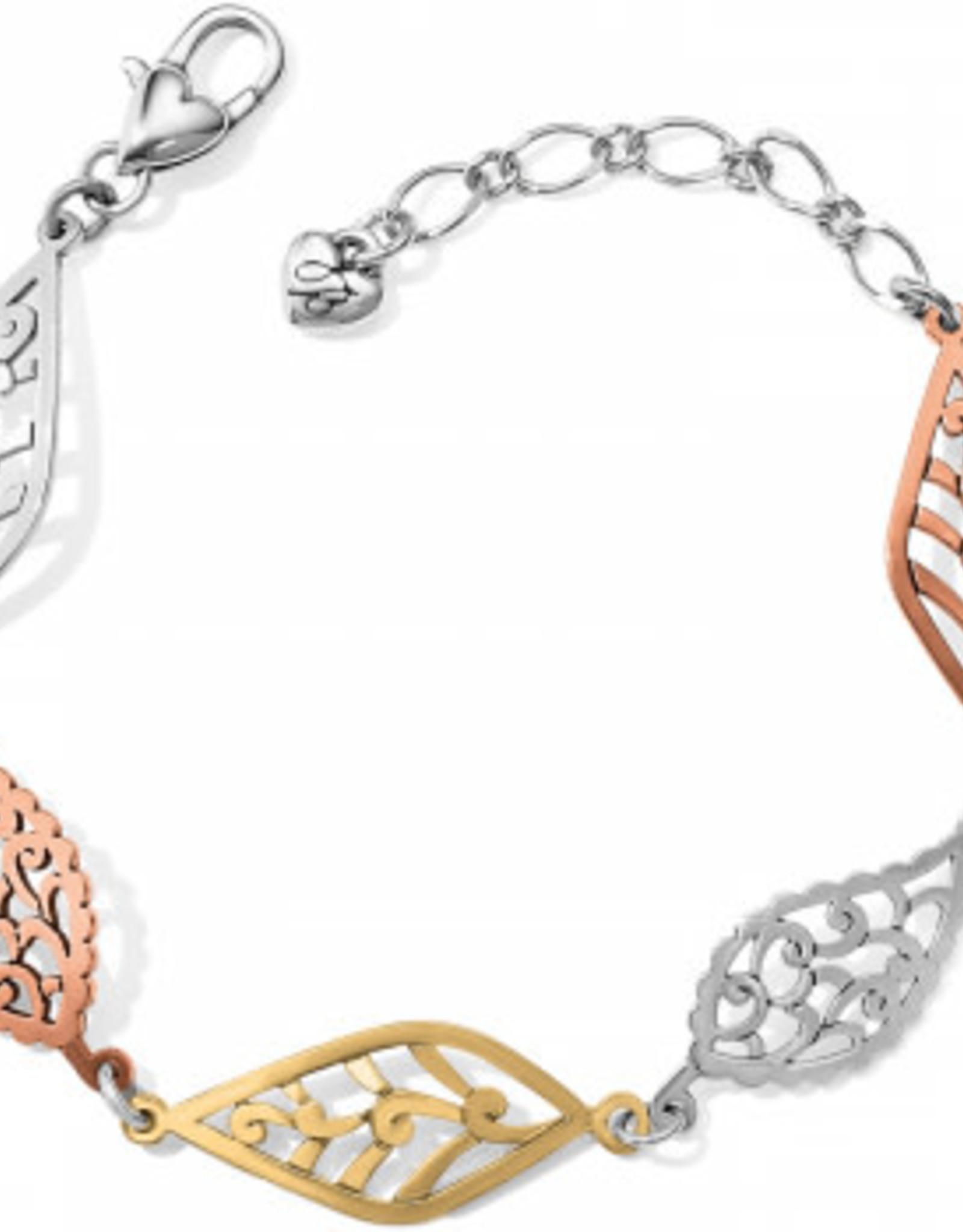 Brighton Brighton, Barbados Leaves Mix Metal Bracelet