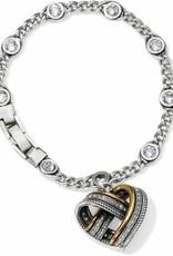 Brighton Brighton, Neptune's Rings Woven Heart Bracelet