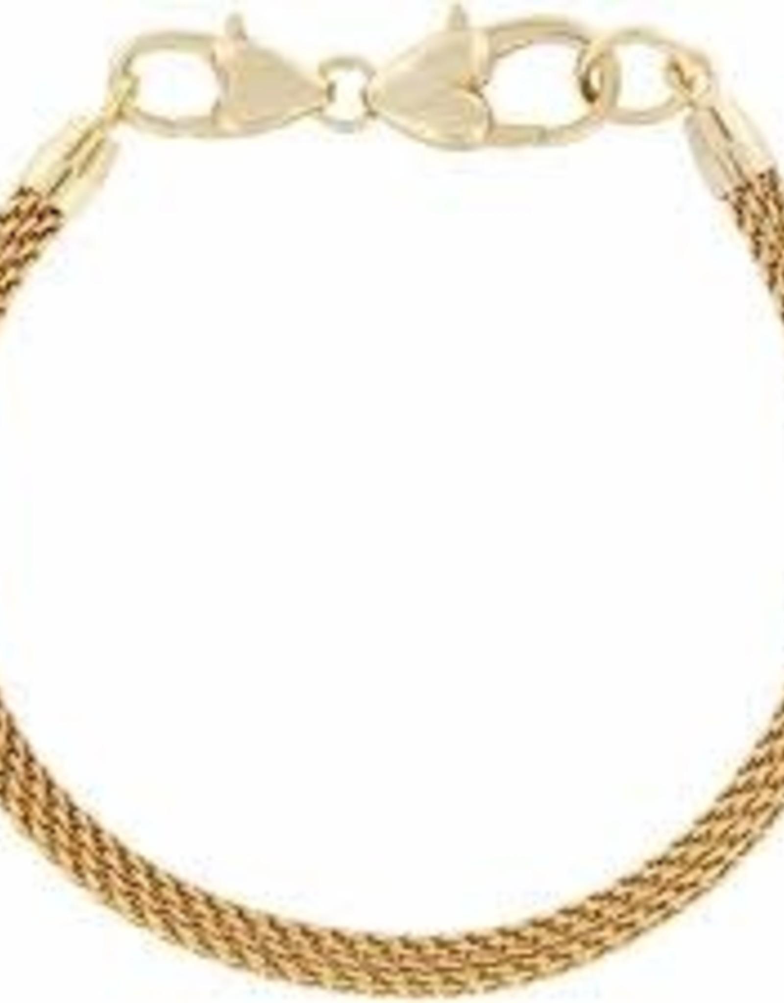 Brighton Brighton, Beverly Glam Bracelet, Gold 8 1/4