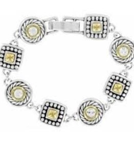 Brighton Brighton, Heiress Crystal Link Bracelet