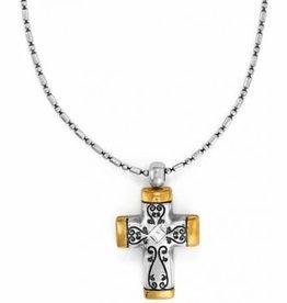 Brighton Brighton, Venezia Petite Cross Necklace