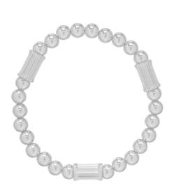 ENEWTON ENEWTON, Dignity Tube, 6mm Bead Bracelet, Sterling