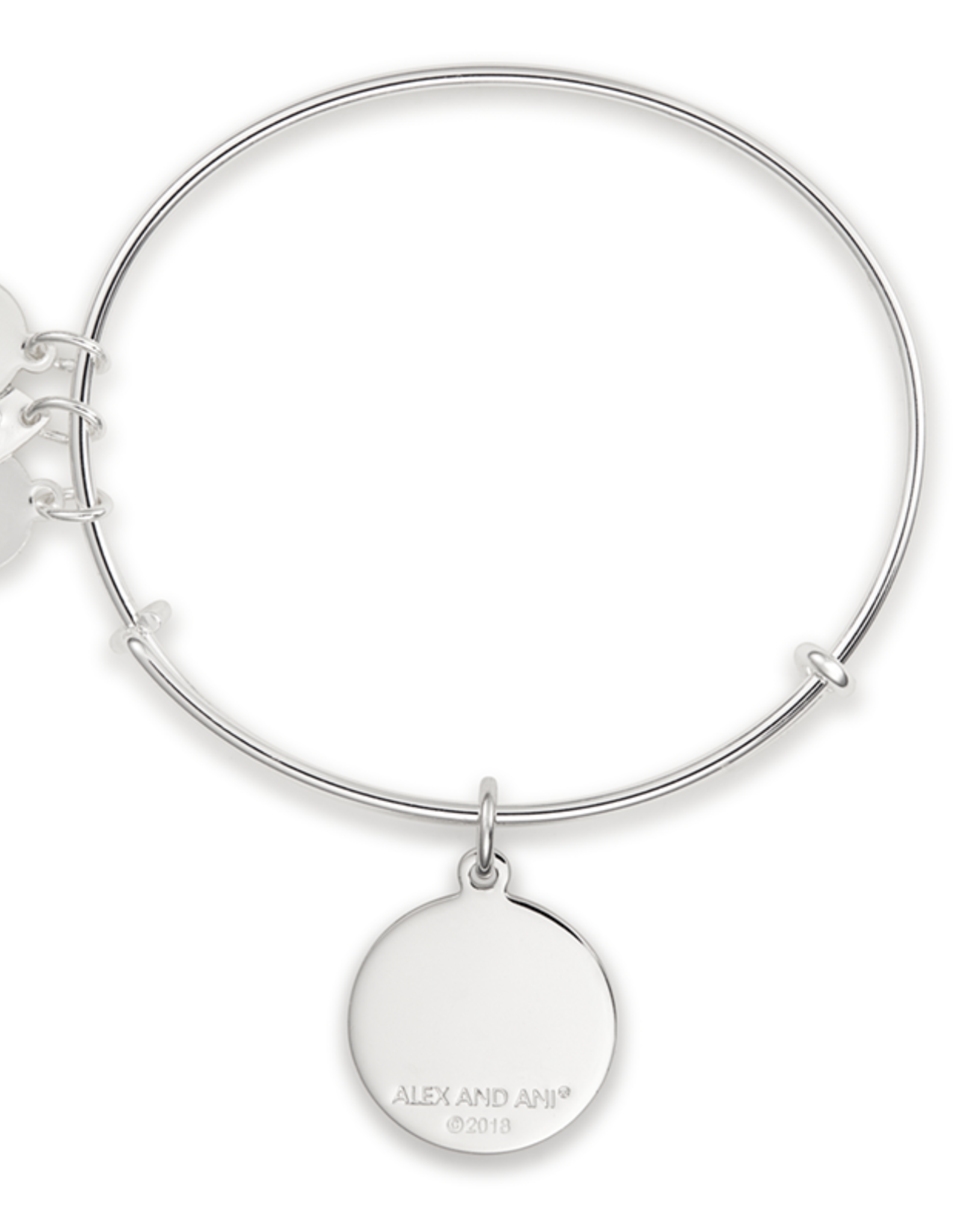 Alex and Ani Sweet 16 Charm Bracelet, Shiny Silver