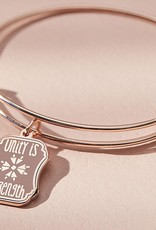 Alex and Ani Unity Is Strength, Shiny Rose Gold FINAL SALE