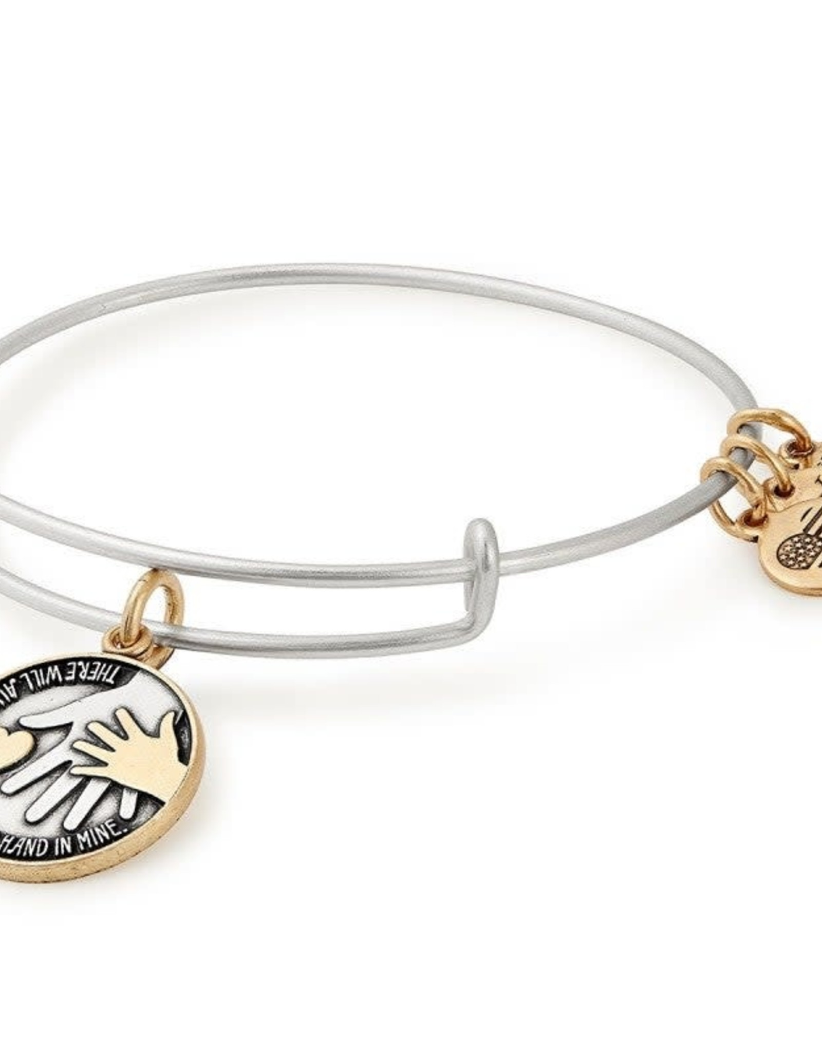Alex and Ani Alex and Ani, Hand in Hand ll, Two Tone, RS