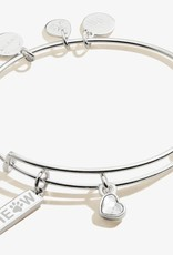 Alex and Ani Meow Duo Charm, SS