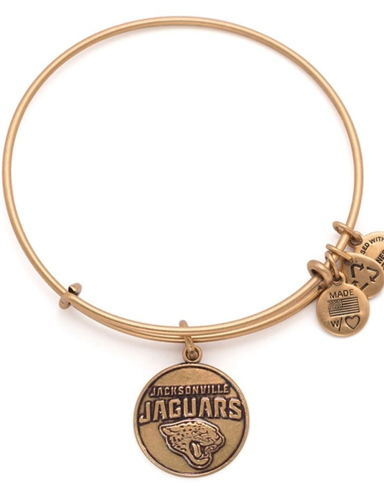 Alex and Ani Alex and Ani, Jacksonville Jaguars logo, RG, FINAL SALE