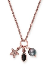 Alex and Ani Star Fish Trio 18in Adjustable Necklace