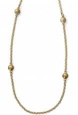 Brighton Brighton, Bilbao Long Necklace, Gold