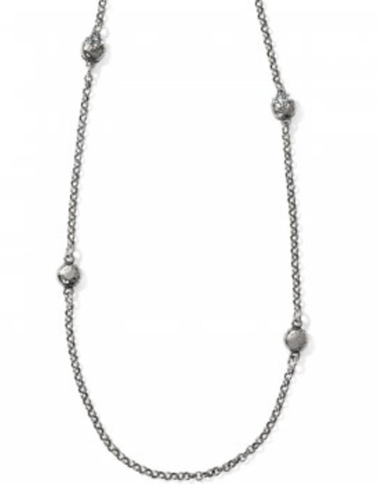 Brighton Brighton, Bilbao Long Necklace, Silver