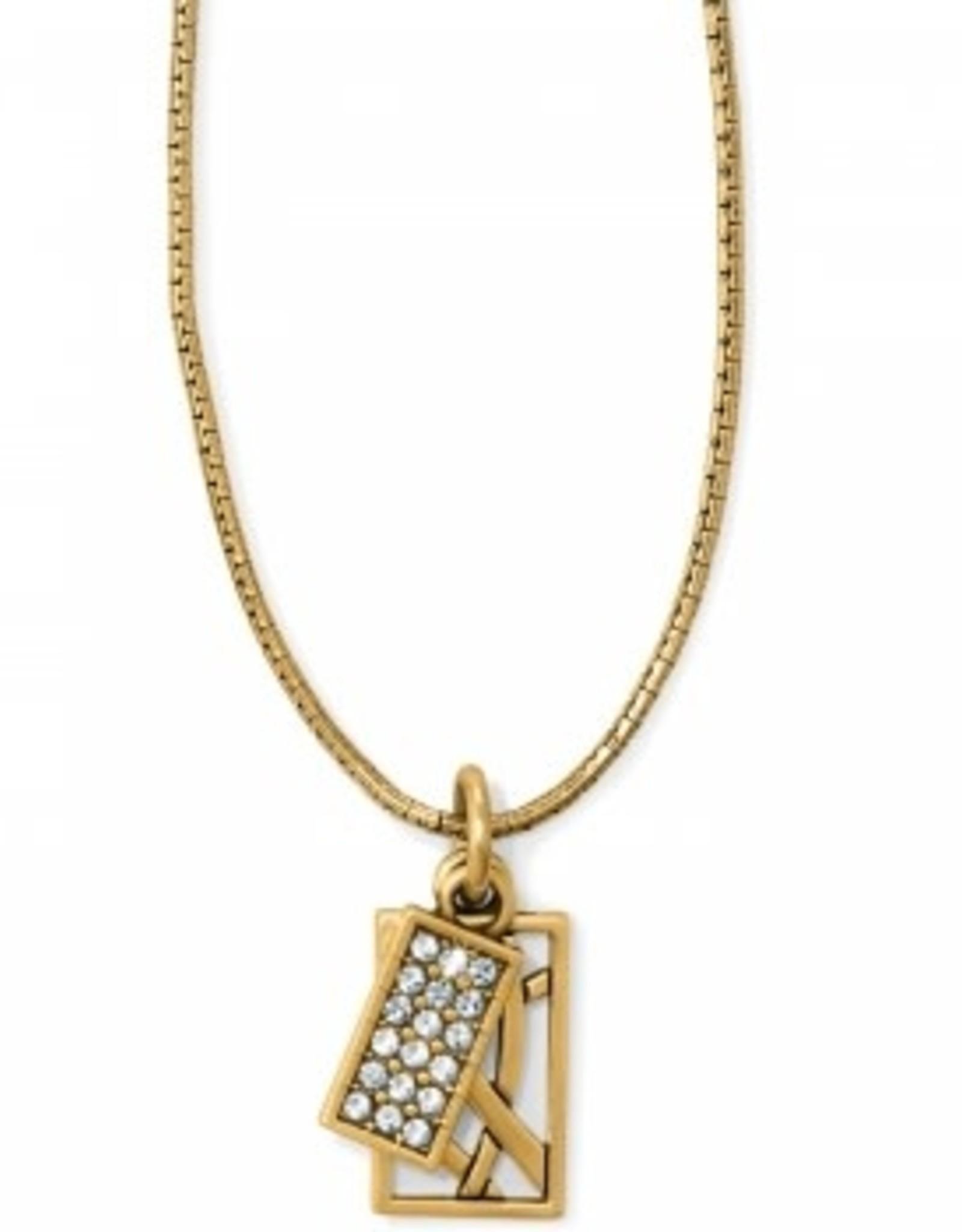 Brighton Brighton, Meridian Zenith Charm Necklace, Gold