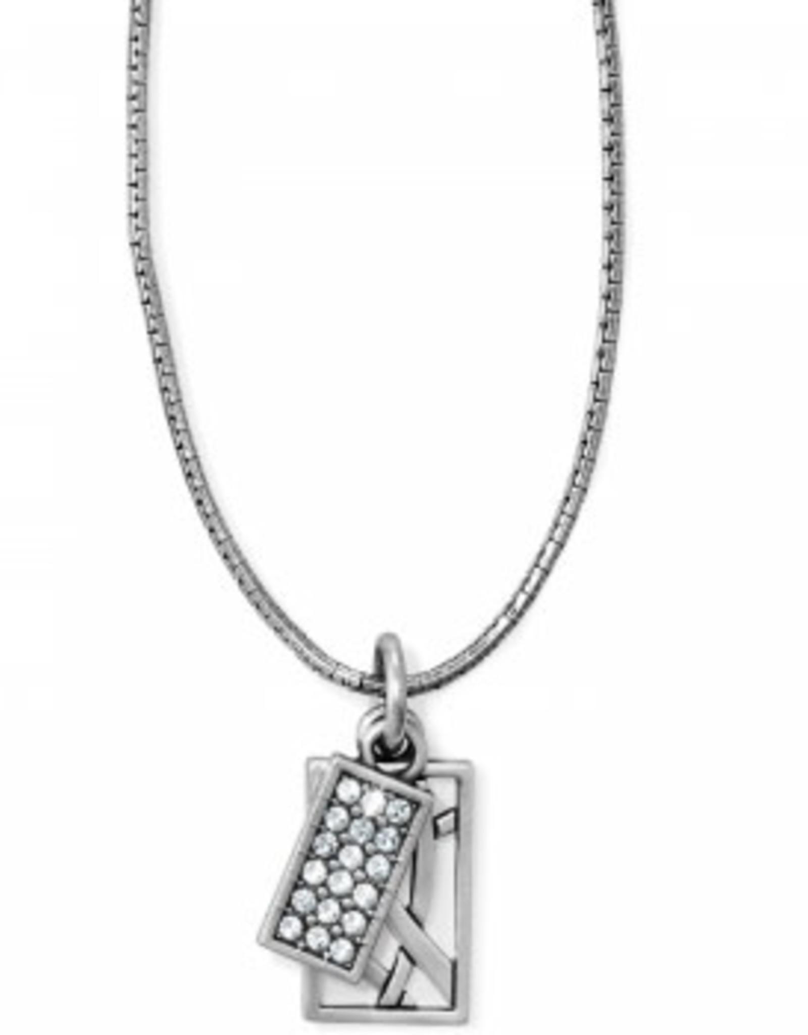 Brighton Brighton, Meridian Zenith Charm Necklace, Silver