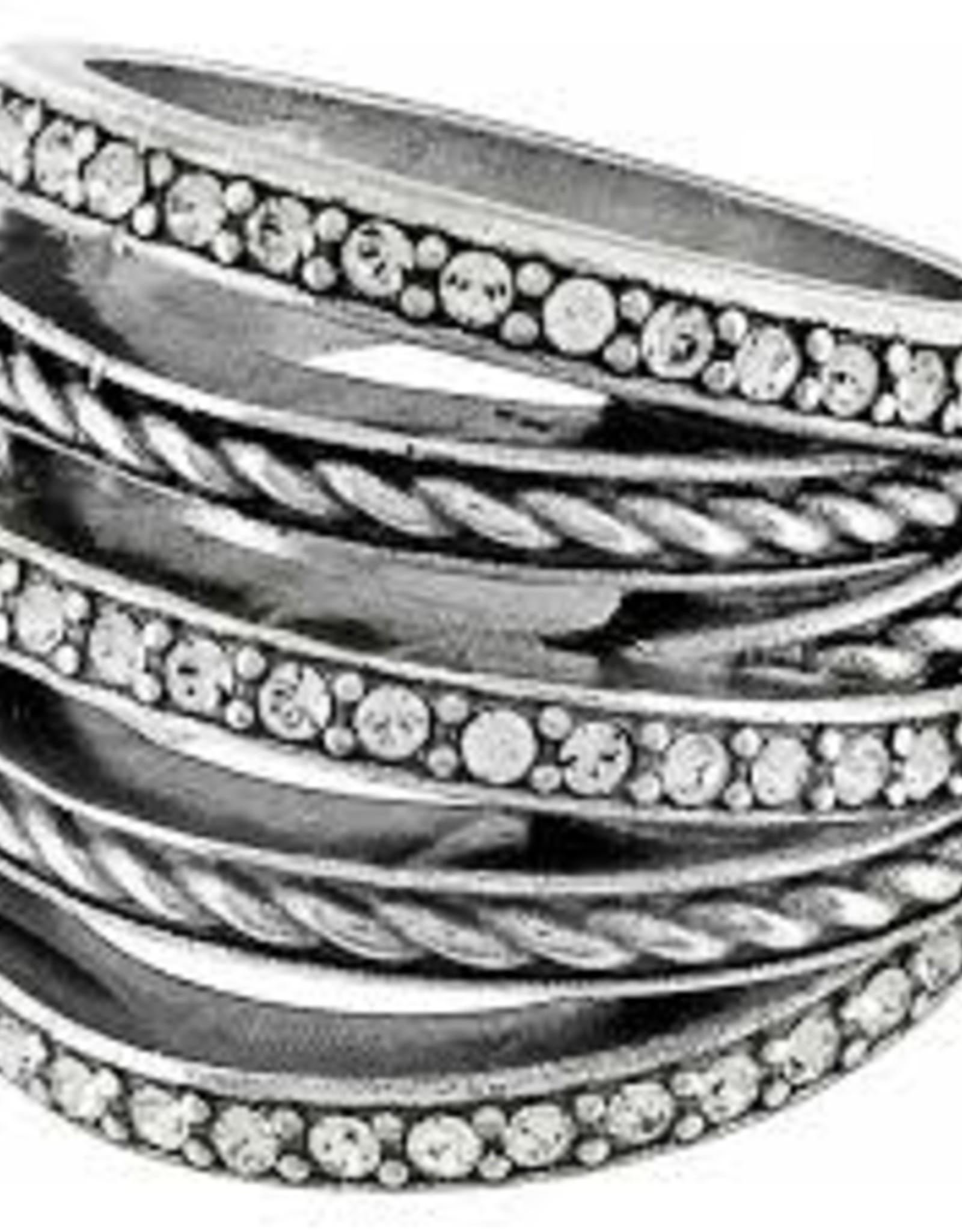 Brighton Brighton Neptune's Rings Ring, Silver